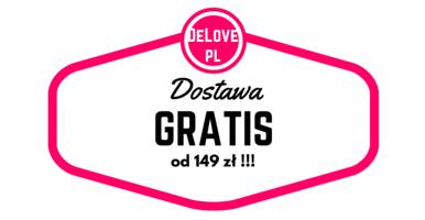 Dostawa GRATIS od 149 zł - DeLove.pl